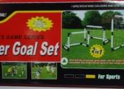 Soccer goal set ...estupendo regalo para tu niño