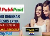 Generar dinero extra por internet