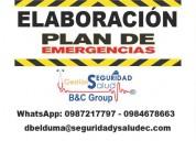 Elaboración planes de emergencia quito