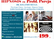 Terapia hipnosis eyac.precoz frigidez anorgasmia