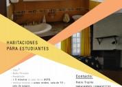 Rento habitaciones amobladas para estudiantes usfq