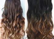 Se colocan extensiones de cabello a domicilio.prec