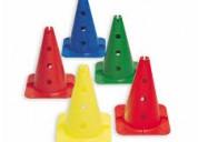 Elásticos de colores para demarcación de canchas
