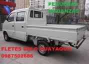 Fletes guayaquil  pequeñas mudanzas 0987502686