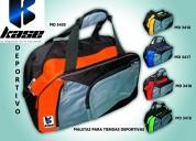 Diseño maletas carpas chalecos salva vidas