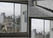 Mallas de protecciÓn para balcones