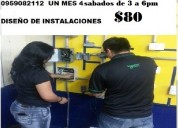 Curso electricidad $80 un mes instalaciones reside