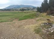 En venta 5 hectareas planas en ayora-cayambe