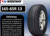 Llantas wideway 165-65r 13 modelo safeway