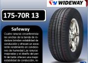 Llantas wideway 175-70r 13 modelo safeway