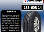 Llantas wideway 185-60r 14 modelo safeway
