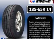 Llantas wideway 185-65r 14 modelo safeway