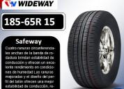 Llantas wideway 185-65r 15 modelo safeway