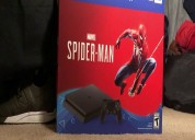 Paquete sony playstation 4 slim 1tb spiderman