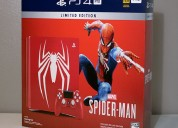 Paquete de 1tb ps4 pro de spider-man de sony marve