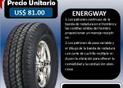 Llantas wideway  225-65r 16c modelo energyway