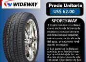 Llantas wideway 215-45r 17 modelo sportsway