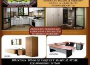 Muebles modulares, fabricaciÓn e instalaciÓn.