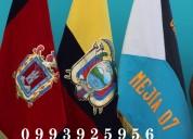 Banderas bandas de madrinas y abanderados