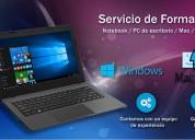 Formateo computadoras instalacion de windows