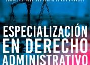 Especializacion española en derecho administrativo