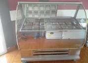 Vendo exibidor de helados de 14 sabores