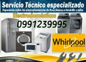 Whirlpool servicio técnico 0991239995 playas