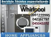 Whirlpool servicio técnico 0991239995 salinas