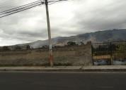 Vendo terreno de 1837 m2 en otavalo san pablo