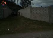 Vendo terreno de 200 m2 en otavalo miravalle
