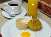 Vendedor ambulante desayunos