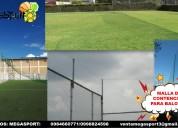 Mallas nylon para Áreas deportivas