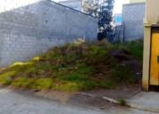Venta terreno rural 120 metros carapungo