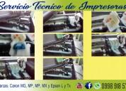 Reparación,servicio técnico de impresoras.