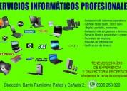 Servicio técnico profesional a centros de cómputos