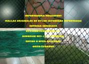 Mallas de canchas de fÚtbol en nylon resistente