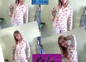 Fabricación y venta de pijamas en tela térmica