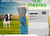 Usted podrá crear alimentos para animales