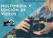 Aprende multimedia y a editar videos compu betel