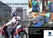 Arnes y mochila para niño en moto economico