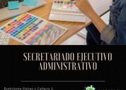 Puede aprender secretariado ejecutivo en compu bet
