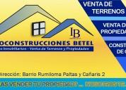 ¿quieres empezar a construir o vender tu casa?