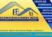 Servicios inmobiliarios, venta de casas.