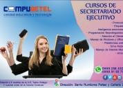 Compu betel ofrece curso de secretariado ejecutivo