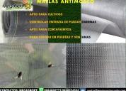 Mallas antimosco para cultivos e invernaderos