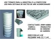 Metalizada termica esponja