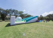 Juego zorball inflable