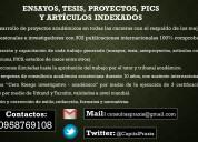 Tfms, tesis y ensayos certificados!!!