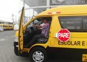 Transporte de personal o escolar/0984929993