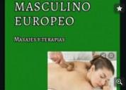 Masajista masculino europeo